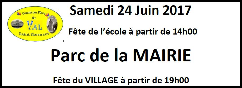 Fête du village 2017