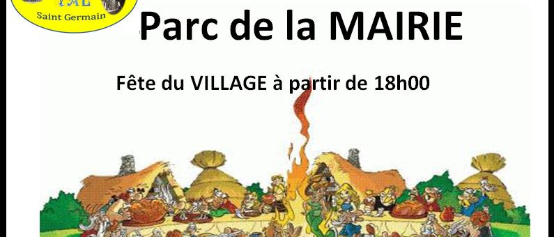 Fête du village SAMEDI 23 JUIN 2018